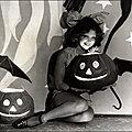 1929, Clara Bow et ses lanternes citrouilles
