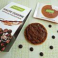 Gaufrette caramel nappée chocolat caramel à seulement 140 calories