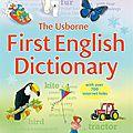 FIRST ENGLISH <b>DICTIONARY</b>