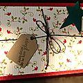 <b>Carte</b> comme un paquet cadeau