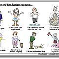 How to be british #1