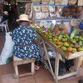 Marchande de fruits et légumes (Sainte Lucie)