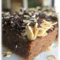 brownies choc courgettes