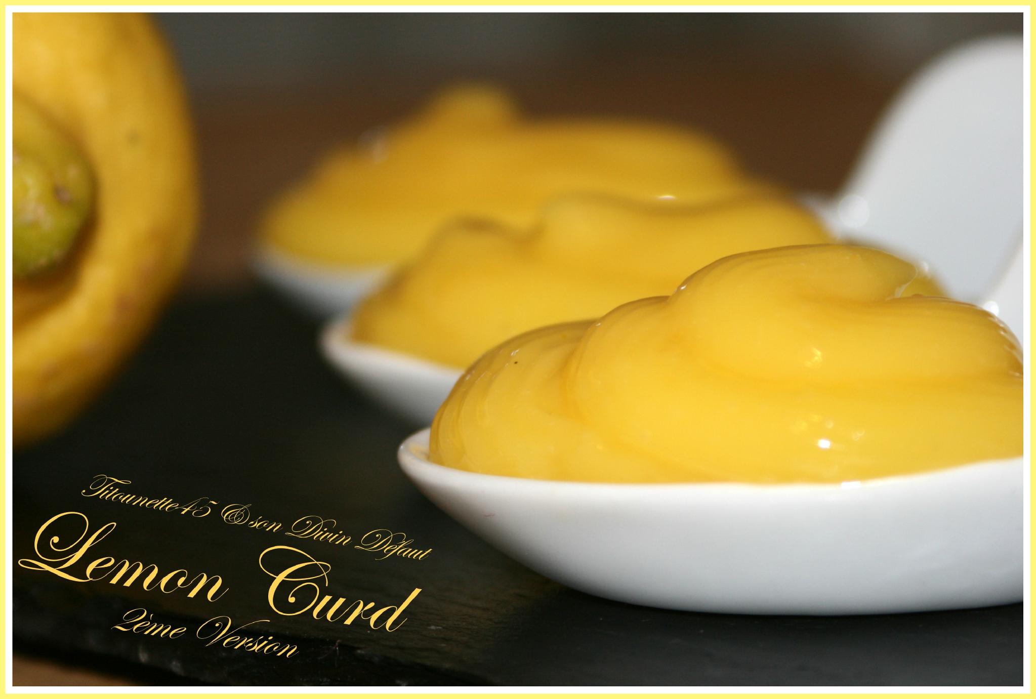 Lemon curd 2eme version