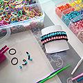Diy ultra facile : bracelet loom et perles hama