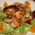 Une petite salade chaude légère et rapide