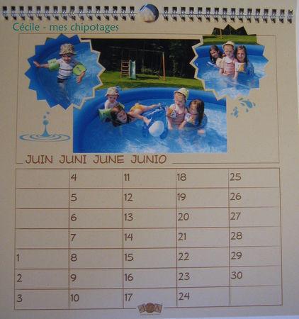 calendrier 06 - juin