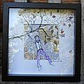 Se raccrocher aux branches 23 cm x 23 cm Marion Alexandre