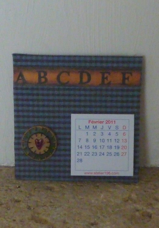 Calendrier country