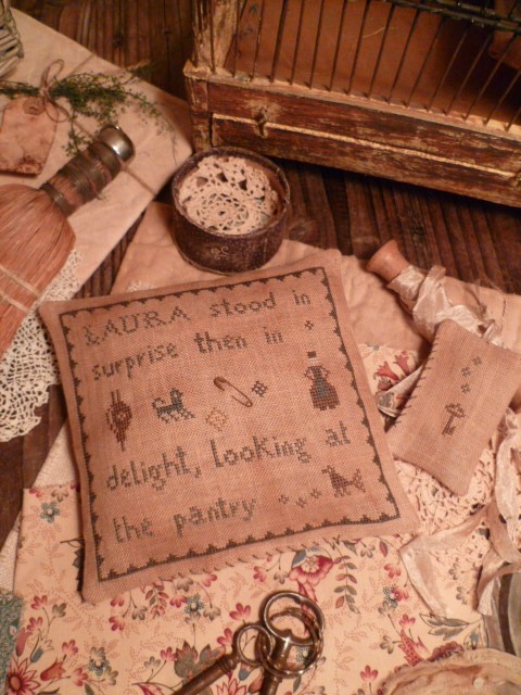 PANTRY THEME: Laura stood in surprise then in delight looking at the pantry Key Pillow US $ 9.00