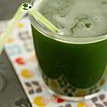 Un jus vert, c'est excellent pour la santé !