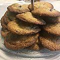 <b>Cookies</b> aux Pépites de Chocolat Noir