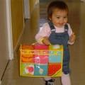 Julia, 1 an et ses cubes Lilliputiens