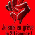 Grève du 29 janvier : je suis à vos côtés (blog en grève).