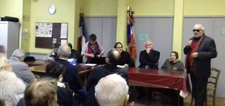Assemblée Générale des CVR de Vaucluse 2018, Lagnes