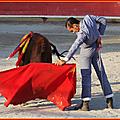 Fiesta campera avec l'école rhône aficion
