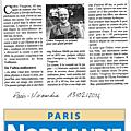 Paris normandie du 13 février 2014