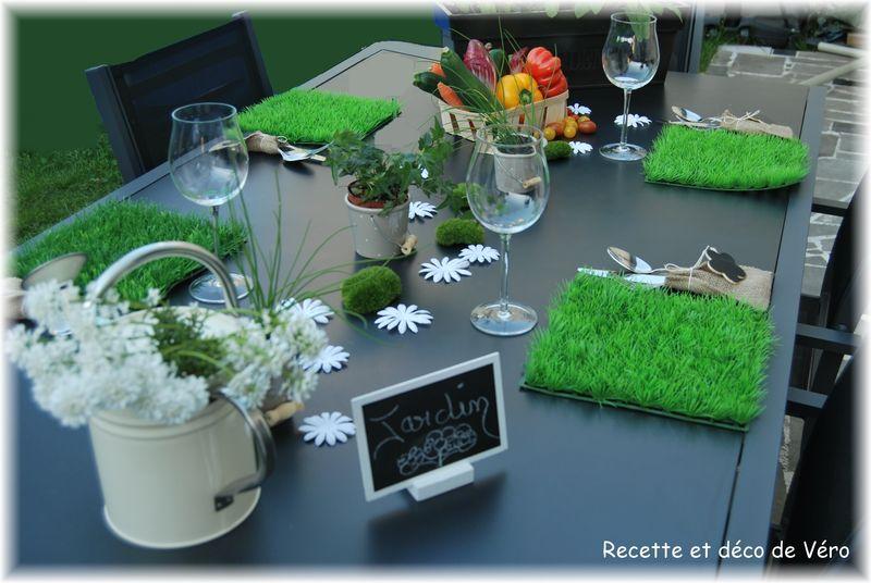 Jolie table printanière \