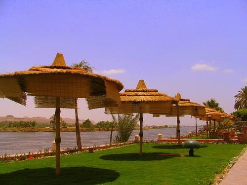 Mynia on the Nile. south Egypt