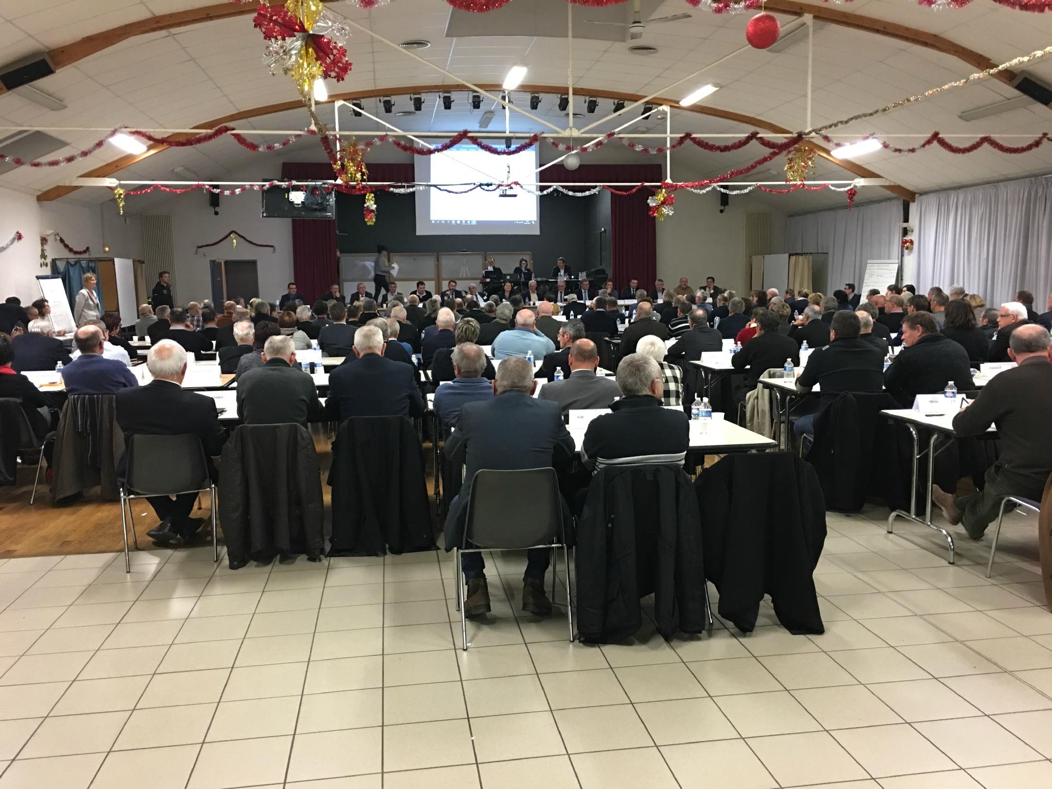 conseil de Communauté d'agglomération Mont-Saint-Michel Normandie • Isigny-le-Buat • lundi 16 janvier 1017 - l'ordre du jour