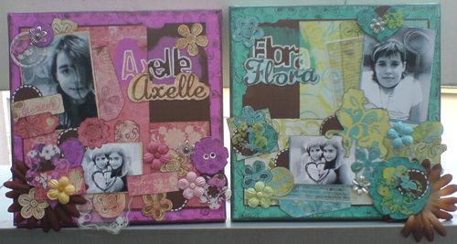 Cadres Axelle & Flora 1