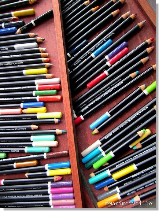 Les crayons de couleur