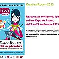 Salon <b>Créativa</b> <b>Rouen</b> 2013