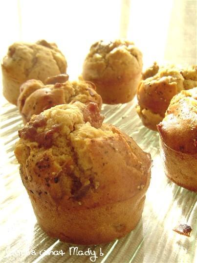 Muffins de luXe au foie gras et aux figues séchées