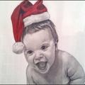 2ème dessin de mon petit-fils Nathan.