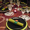 Déco table réveillon 2011