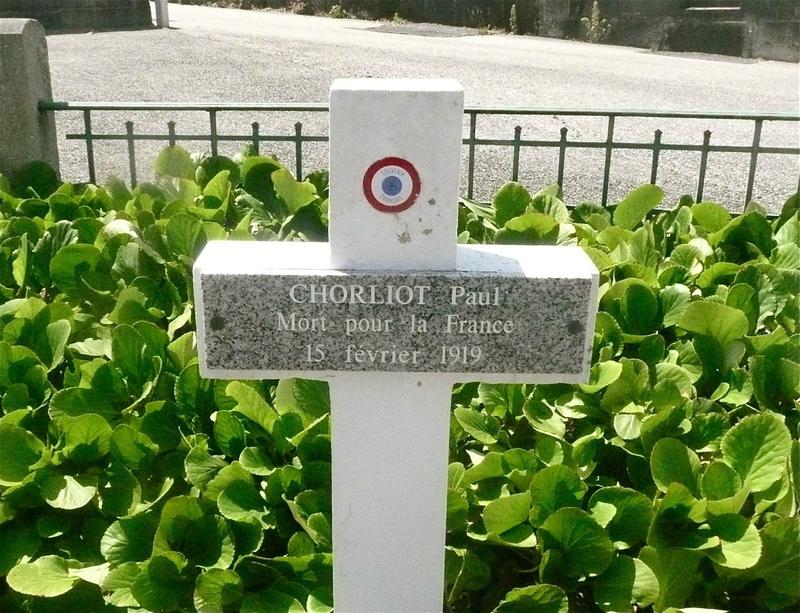 Paul Chorliot, tombe