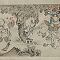 Rijksmuseum purchases two Asian scroll paintings at the European Fine Art Fair