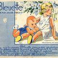Bleuette : catalogue printemps-été 1938.