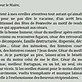 Tribune libre: lettre ouverte au maire