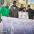 Fin de la grève de la faim à madrid