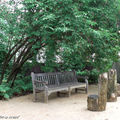 Des bancs pour partager un moment à Chaumont-sur-Loire