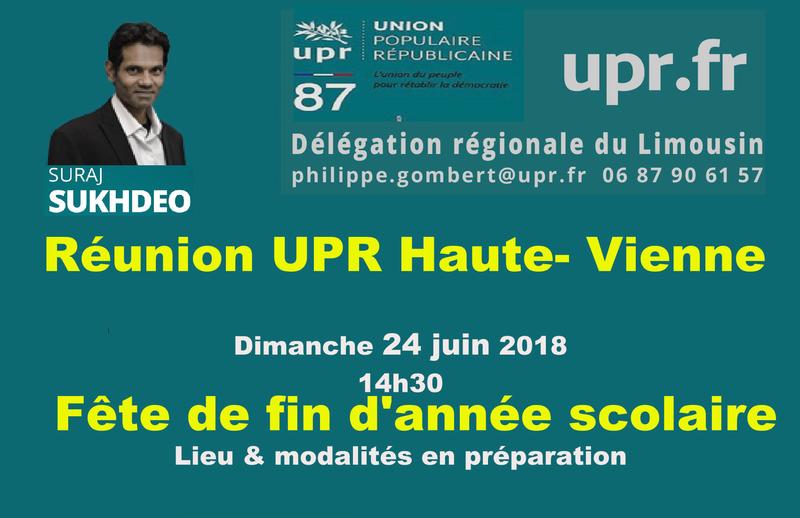 projet reunion UPR 87