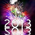 Bonne Année <b>2013</b> !