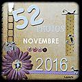 52 photos pour 2016: novembre