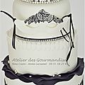 Wedding cake masques detail2w
