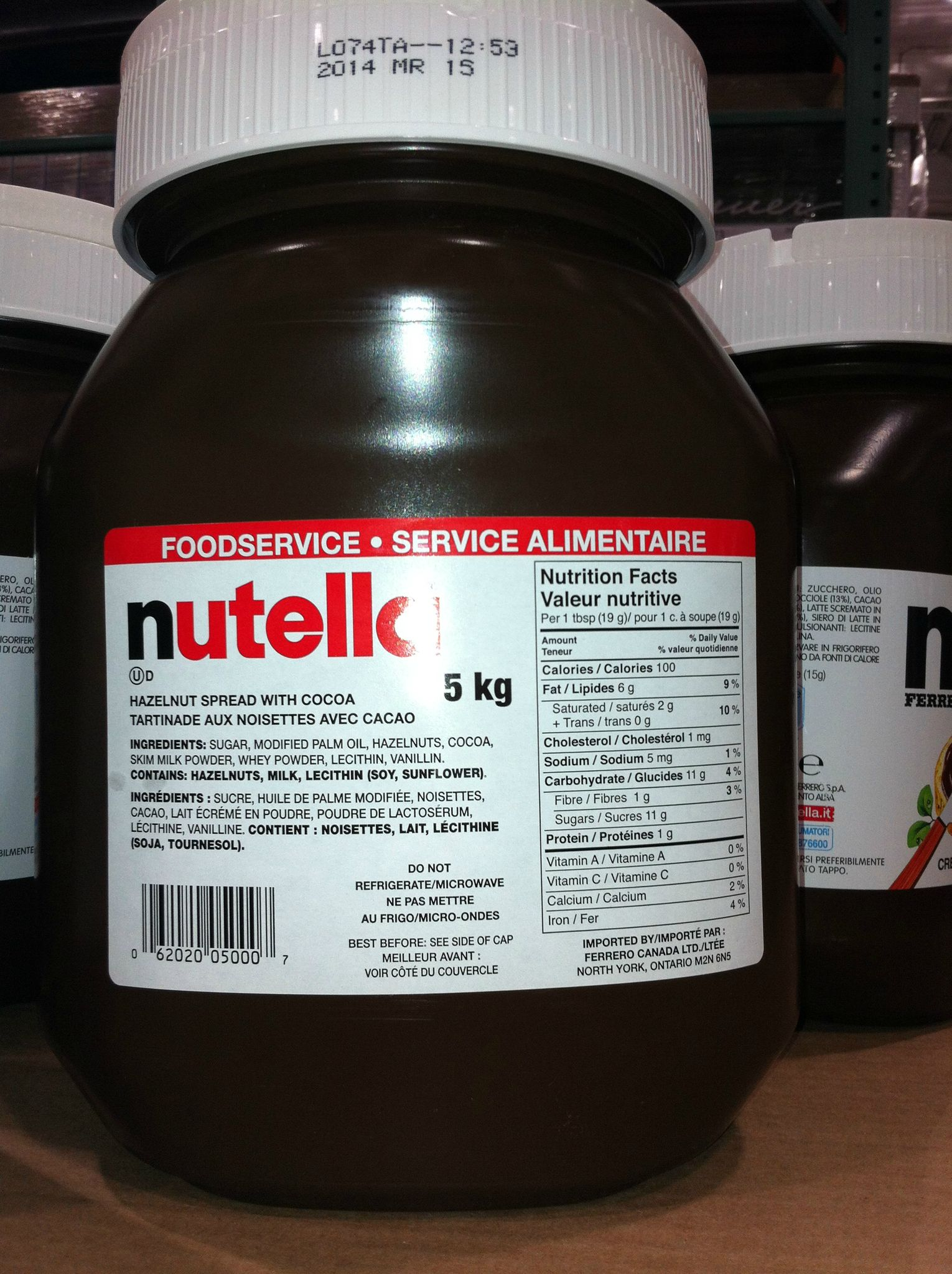 Nutella à Gogo