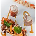Râbles de lapin farcis au foie gras, saveurs automnales pour le salon du blog # 4