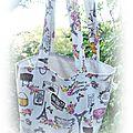 Un sac cabas pour accompagner ma trousse couture