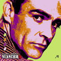 Nuancier pop'art A, Sean Connery