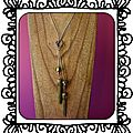 Collier Olivine Charmed