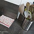 Des <b>Lingettes</b> lavables pour la cuisine