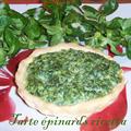 Tarte épinards / ricotta