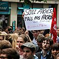 Manif cont