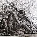 Puvis, la sentinelle endormie, 1870-71