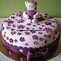 Gâteau hello kitty - version 3 !